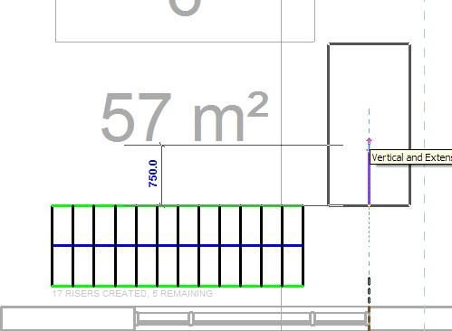 Vaak 3.13 Eenvoudige trap met kwart TX51