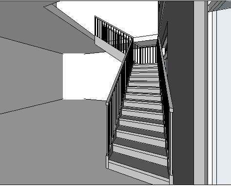 Vaak 3.13 Eenvoudige trap met kwart NH73